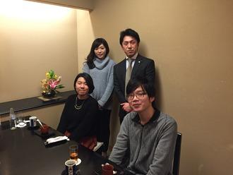 3月3日 新入写真食事会