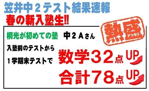 Microsoft Word - ☆笠井テスト結果速報 - コピー