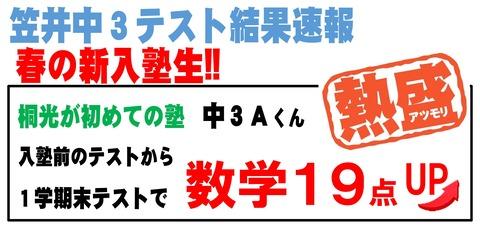 Microsoft Word - ☆笠井テスト結果速報