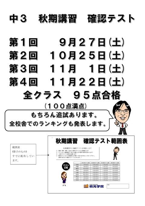 Microsoft Word - 秋期確認テストブログ用