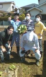畑にて(2)
