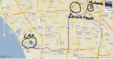 LAX to ELA