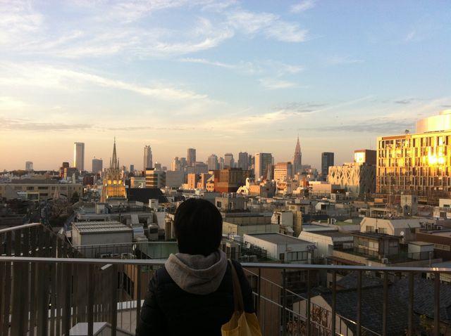 の 冬 東京