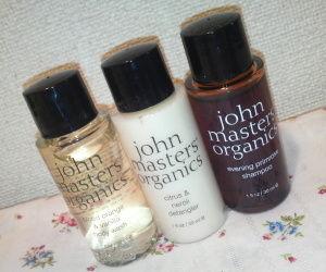 『john masters organics(ジョンマスターオーガニック)』トライアルセット