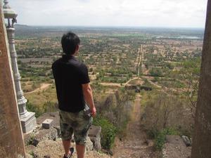 プノンチソー遺跡@カンボジア