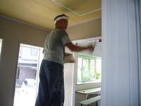壁漆喰塗り