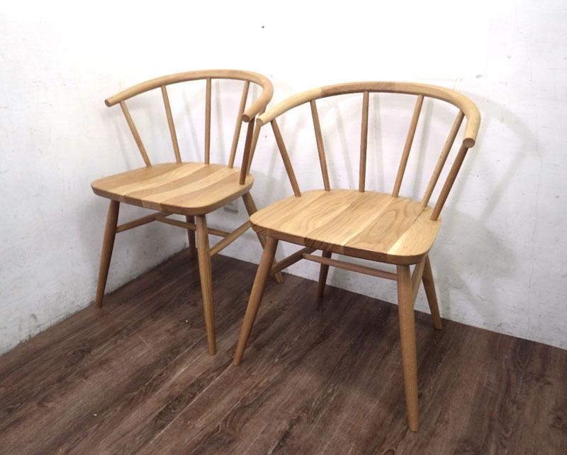 無垢材テーブルベンチ・オーク材