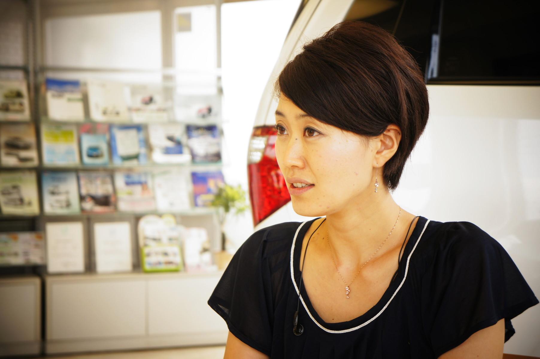 東京トヨペット 自己満足部働くママ社員インタビュー コメント