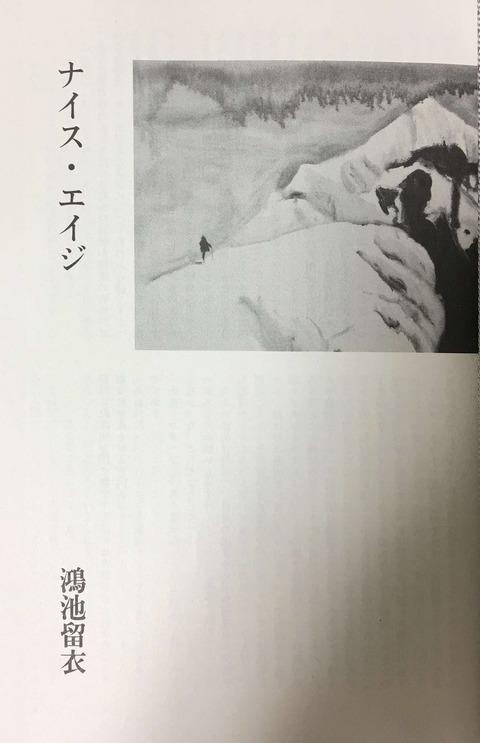 鴻池留衣『ナイス・エイジ』「新調」2017年7月号