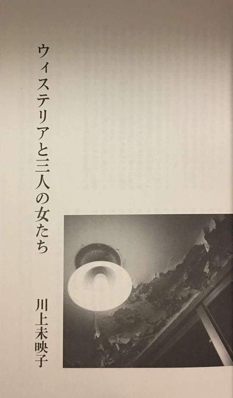 川上未映子『ウェステリアと三人の女たち』「新潮」2017年8月号
