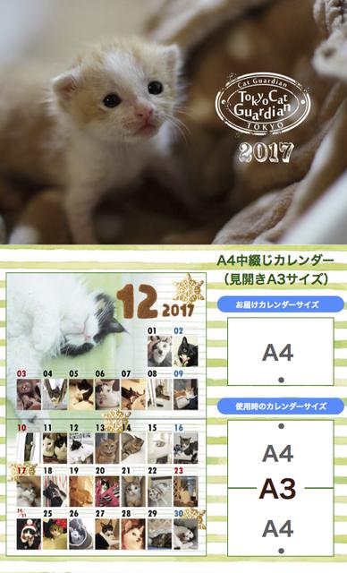 カレンダー紹介2017