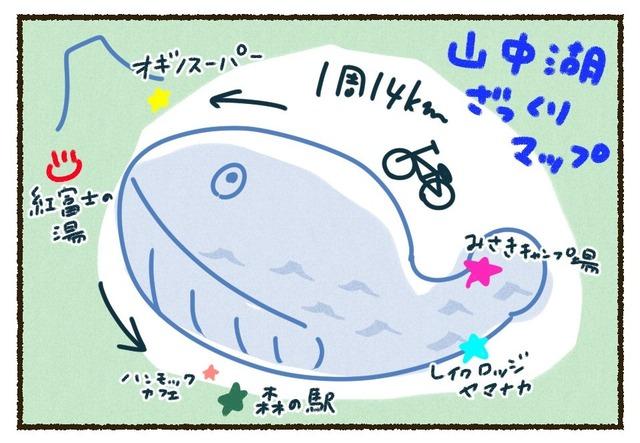 山中湖ざっくりマップ