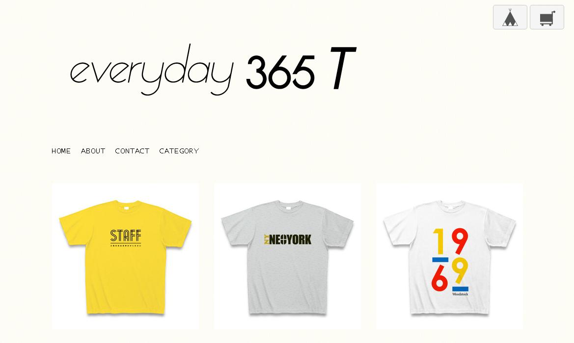 [everyday365T]オシャレなデザイナーTシャツ通販☆