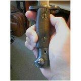 銃剣の握り全体像