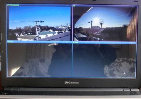 監視カメラ1台