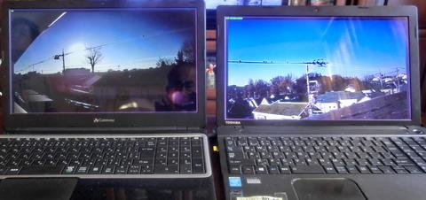 監視カメラ2台