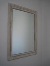 タイル枠の鏡