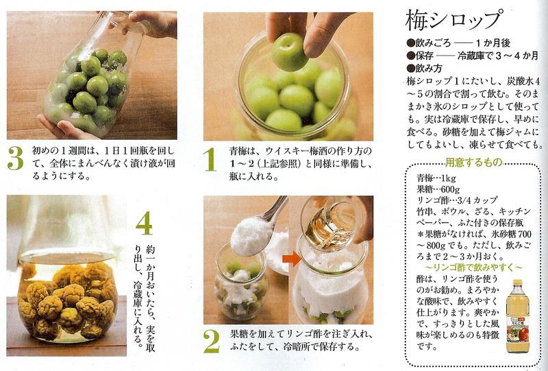梅シロップ作り方