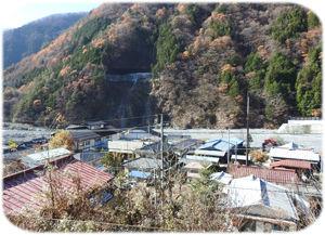 0奈良田の集落300