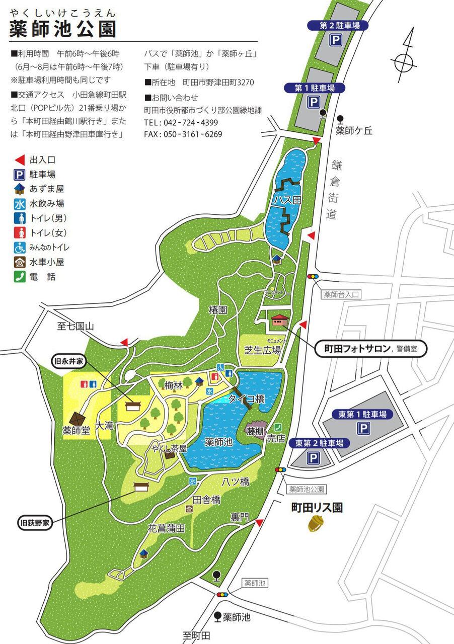 薬師池地図1171