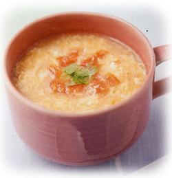 卵とトマトの酸味スープ