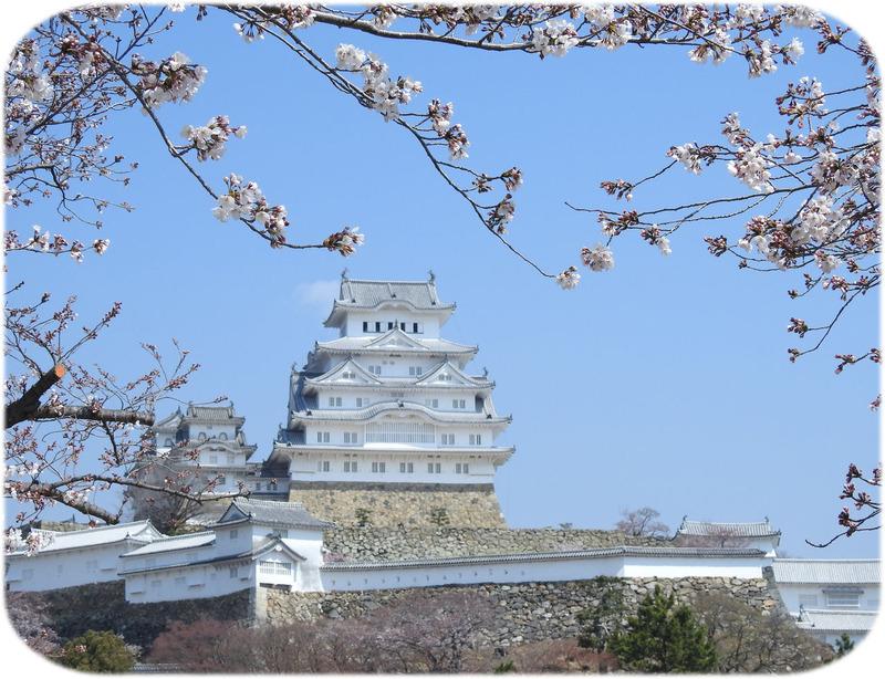 0桜と城2500