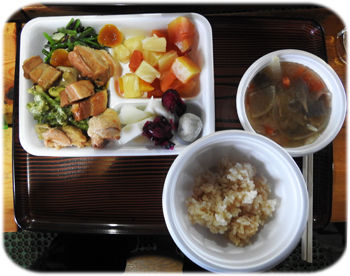 0赤岳の夕食350
