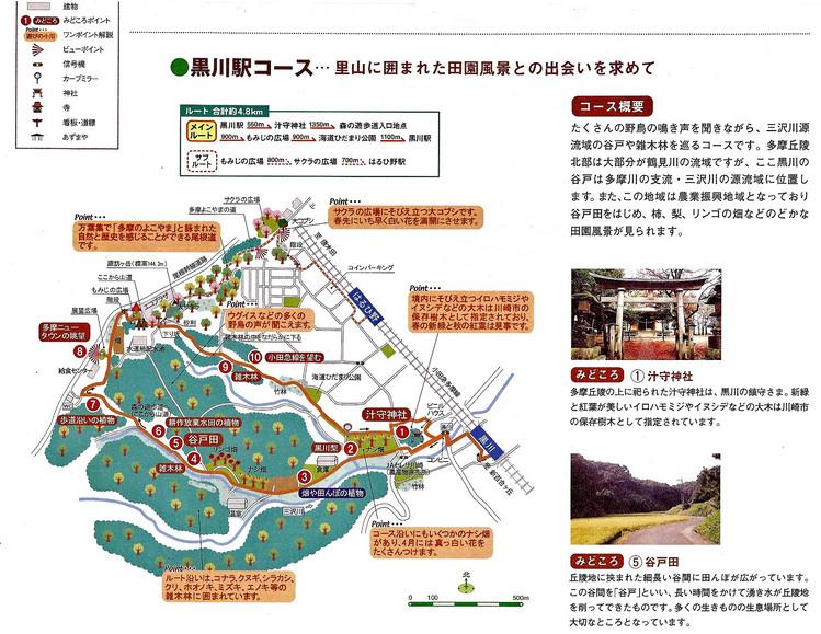 小田急 黒川駅コース