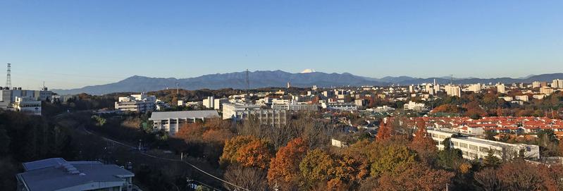 富士山遠景2500