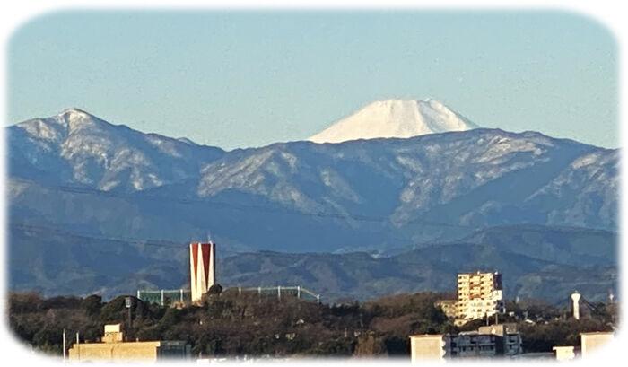 0蛭が岳と富士山700