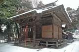 雪の汁守神社2