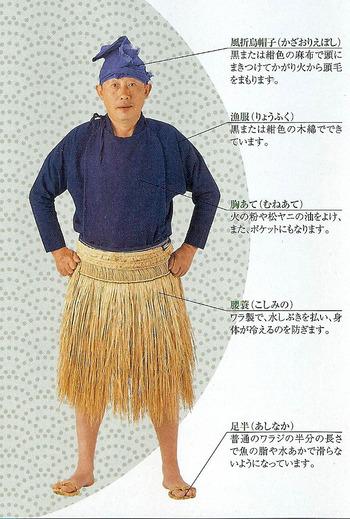 鵜匠の装束