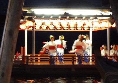 歓迎踊り舟