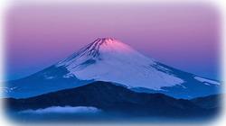 プロが箱根から撮った朝焼けの富士山