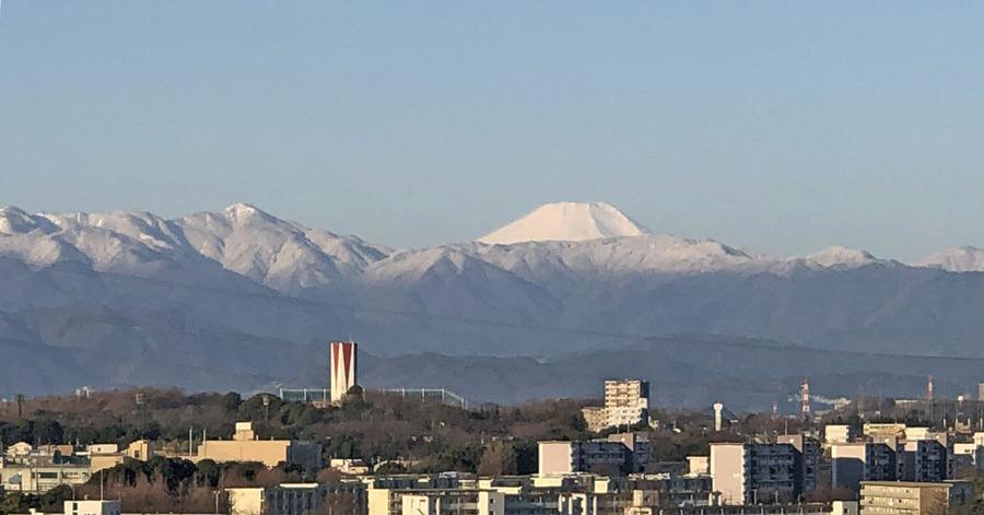 富士山と蛭が岳2000
