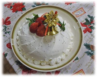 0品の良いケーキが完成400