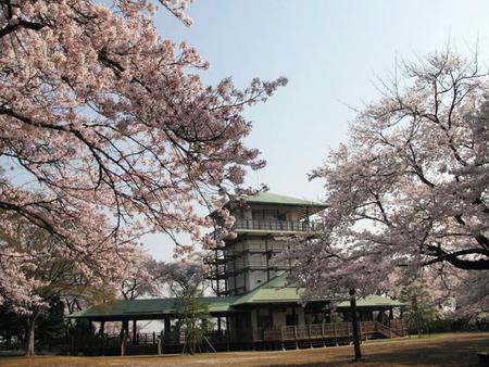 桝形山広場展望台
