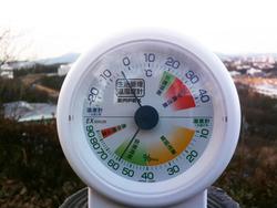 1月11日朝の気温n