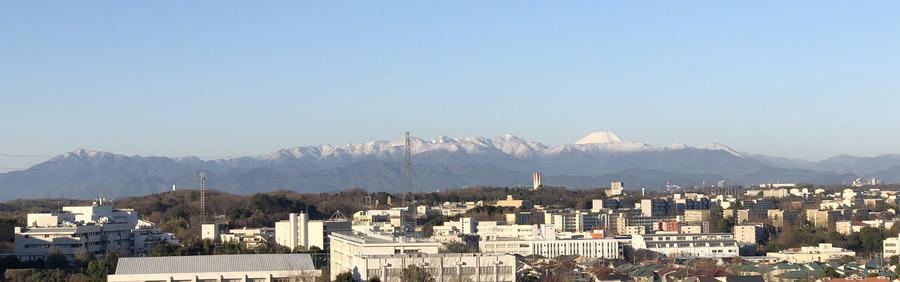 大山・蛭が岳・富士山2000