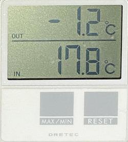 気温15日