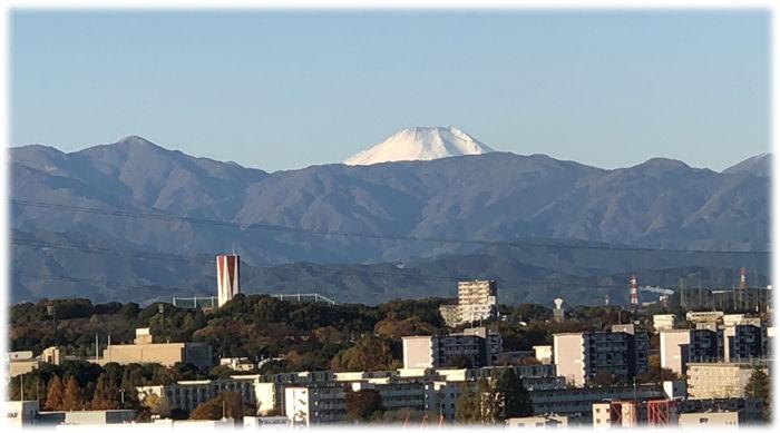 蛭が岳と富士山700