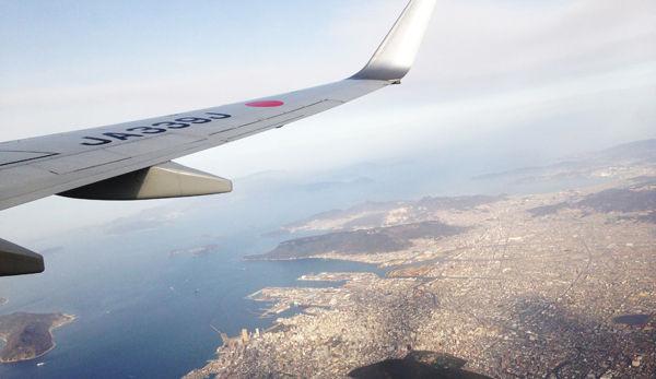 JALから見た瀬戸内海600