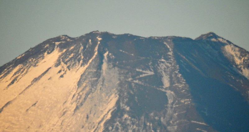 0富士山山頂1600