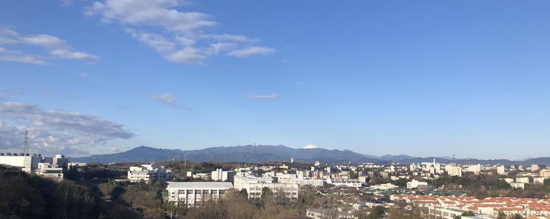 0丹沢山系と富士山2001