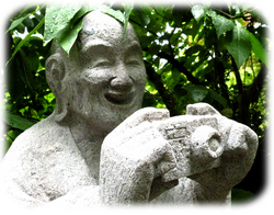 デジカメ石仏