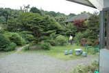 小島史料館敷地庭