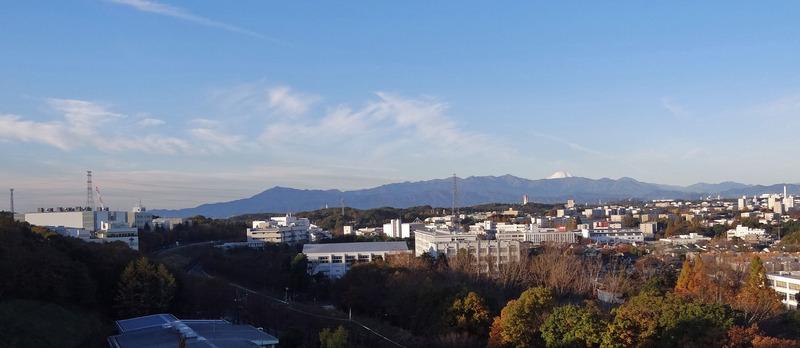 0丹沢山系と富士山