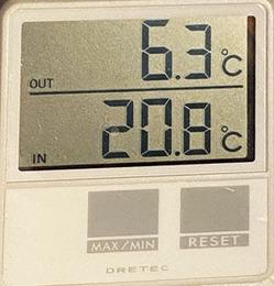 0外気温350