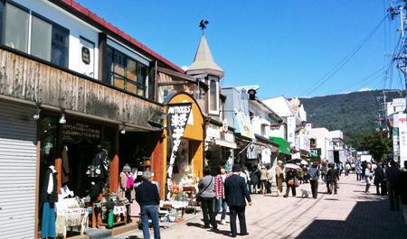 旧軽井沢通り1