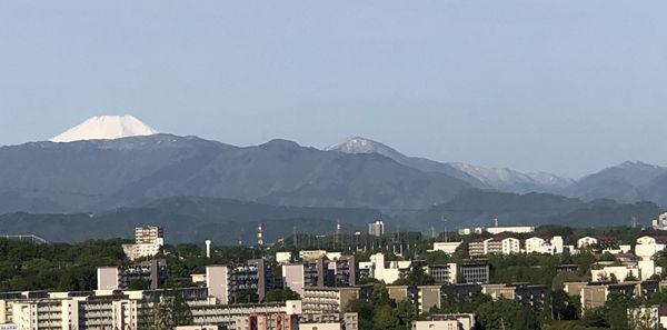 富士山と大室山650